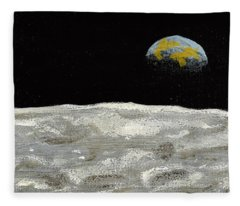 Death By Starlight Fleece Blanket