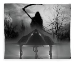 Death Is Coming For You Fleece Blanket