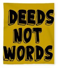 Inspirational Mantra Affirmation Motivation Quotes, Daily Reminder Prints Posters Fleece Blanket