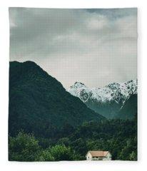 Deep In A Dream Fleece Blanket