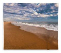 Delaware Beach Paradise Fleece Blanket