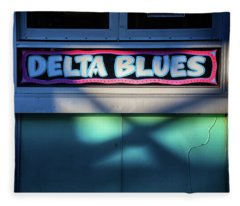 Delta Blues Fleece Blanket