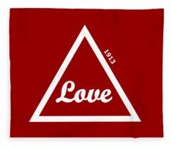 Delta Sigma Theta Fleece Blankets Fine Art America