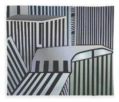 Den City Fleece Blanket