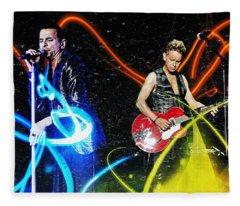 Depeche Mode Fleece Blanket