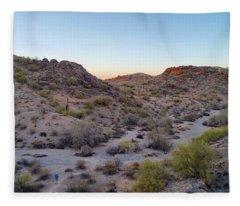 Desert Canyon Fleece Blanket