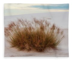 Fleece Blanket featuring the photograph Desert Dwelling by Rick Furmanek