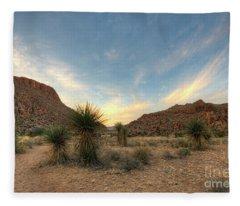 Desert Hike Fleece Blanket
