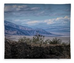 Desert Landscape Fleece Blanket
