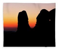 Desert Night Fleece Blanket