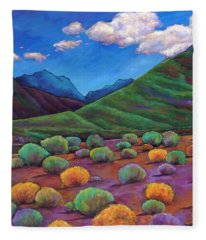 Desert Valley Fleece Blanket