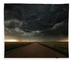 Desolation Road Fleece Blanket