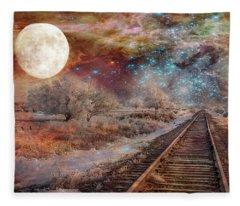 Destination Universe Fleece Blanket
