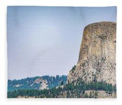 Devils Tower Fleece Blanket