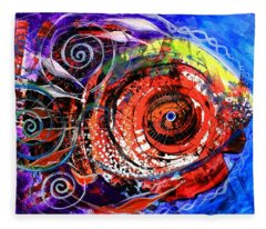 Diabla Grande Fleece Blanket
