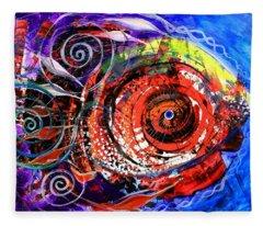 Diabla Grande Fleece Blanket
