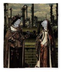 Dialog Fleece Blanket