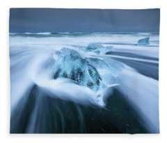 Diamond Beach Fleece Blanket