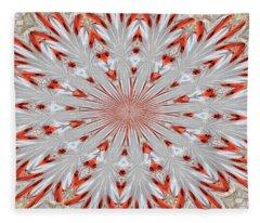 Digitalized Cardinal Fleece Blanket