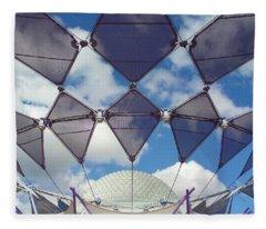 Disney World Showcase Fleece Blanket