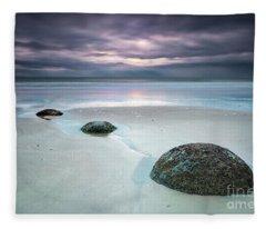 Distant Thunder Fleece Blanket