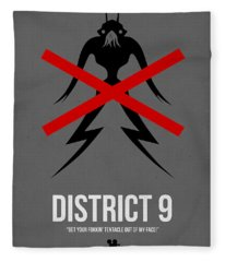 District 9 Fleece Blanket