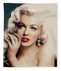 Diva Mm 169 Rose Fleece Blanket