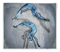 Dive Into Your Life Fleece Blanket