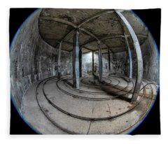 Djupavik Cannery Herring Oil Tank Fleece Blanket