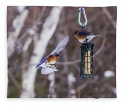 Docking Bluebird Fleece Blanket