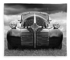 Dodge Truck 1947 Fleece Blanket