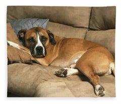 Dog Life Fleece Blanket