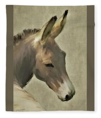 Donkey Fleece Blanket