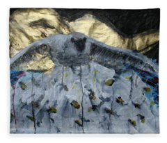 Don't Fight Your Dreams Fleece Blanket