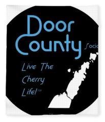 Door County Icon Fleece Blanket