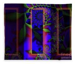 Doors Of Perception Fleece Blanket