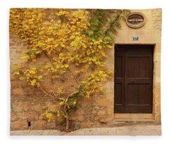 Doorway, Sarlat, France Fleece Blanket