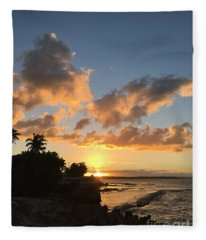 Dorado, Puerto Rico Fleece Blanket