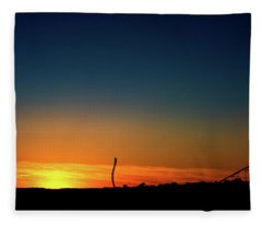 Dorney Park Sunset Fleece Blanket