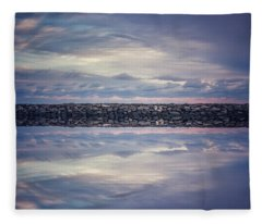 Fleece Blanket featuring the photograph Double Exposure 2 by Steve Stanger