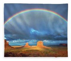 Double Good Luck  2 Fleece Blanket