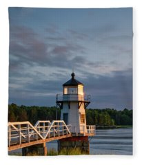 Doubling Point Light Fleece Blanket