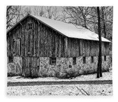 Down The Old Dirt Road Fleece Blanket