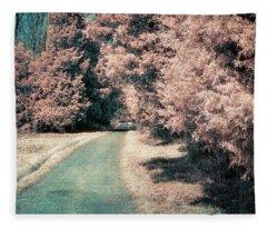 Down The Road Fleece Blanket