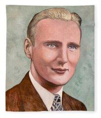 Dr. James Roderick II Fleece Blanket