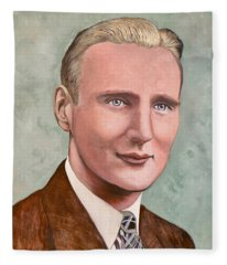 Dr. James Roderick II Fleece Blanket