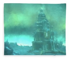 Dragonblight Fleece Blanket