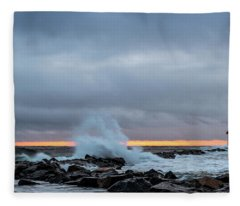 Dramatic Beginnings. Fleece Blanket