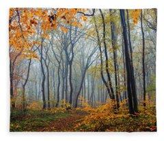 Dream Forest Fleece Blanket