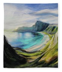 Dreams In Hidden Places Fleece Blanket